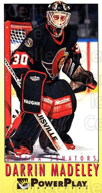 1993-94 PowerPlay #400 Darrin Madeley<br/>6 In Stock - $1.00 each - <a href=https://centericecollectibles.foxycart.com/cart?name=1993-94%20PowerPlay%20%23400%20Darrin%20Madeley...&quantity_max=6&price=$1.00&code=148171 class=foxycart> Buy it now! </a>