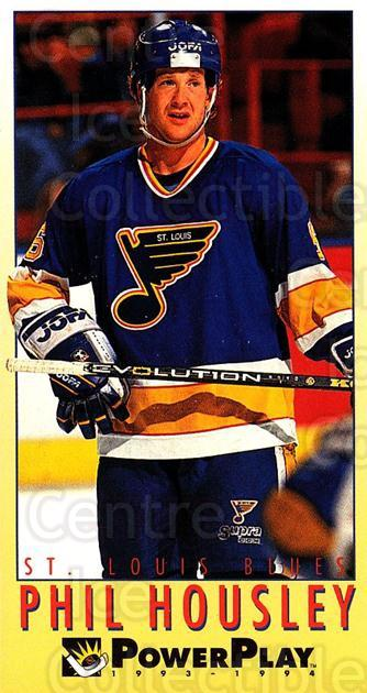 1993-94 PowerPlay #427 Phil Housley<br/>8 In Stock - $1.00 each - <a href=https://centericecollectibles.foxycart.com/cart?name=1993-94%20PowerPlay%20%23427%20Phil%20Housley...&quantity_max=8&price=$1.00&code=148198 class=foxycart> Buy it now! </a>