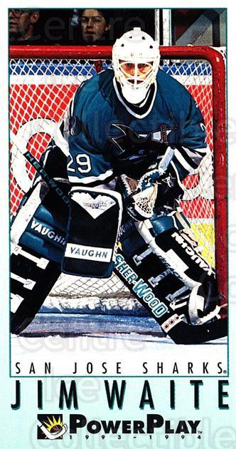 1993-94 PowerPlay #438 Jimmy Waite<br/>7 In Stock - $1.00 each - <a href=https://centericecollectibles.foxycart.com/cart?name=1993-94%20PowerPlay%20%23438%20Jimmy%20Waite...&quantity_max=7&price=$1.00&code=148210 class=foxycart> Buy it now! </a>