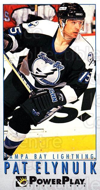 1993-94 PowerPlay #442 Pat Elynuik<br/>8 In Stock - $1.00 each - <a href=https://centericecollectibles.foxycart.com/cart?name=1993-94%20PowerPlay%20%23442%20Pat%20Elynuik...&quantity_max=8&price=$1.00&code=148215 class=foxycart> Buy it now! </a>