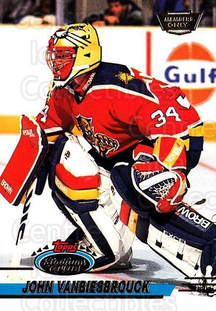 1993-94 Stadium Club Members Only #330 John Vanbiesbrouck<br/>9 In Stock - $2.00 each - <a href=https://centericecollectibles.foxycart.com/cart?name=1993-94%20Stadium%20Club%20Members%20Only%20%23330%20John%20Vanbiesbro...&quantity_max=9&price=$2.00&code=148440 class=foxycart> Buy it now! </a>