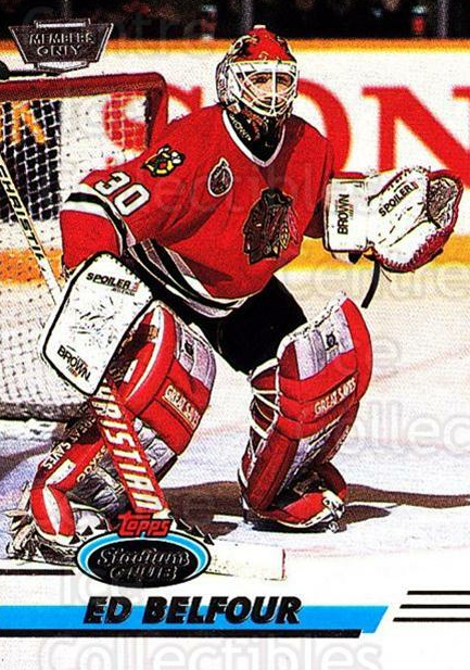 1993-94 Stadium Club Members Only #99 Ed Belfour<br/>5 In Stock - $3.00 each - <a href=https://centericecollectibles.foxycart.com/cart?name=1993-94%20Stadium%20Club%20Members%20Only%20%2399%20Ed%20Belfour...&price=$3.00&code=148673 class=foxycart> Buy it now! </a>
