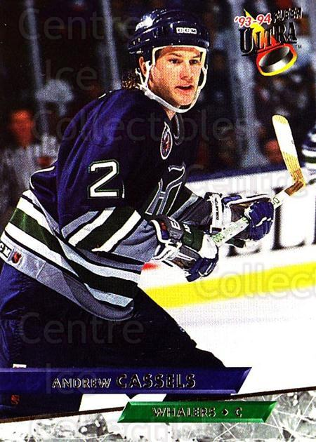 1993-94 Ultra #33 Andrew Cassels<br/>5 In Stock - $1.00 each - <a href=https://centericecollectibles.foxycart.com/cart?name=1993-94%20Ultra%20%2333%20Andrew%20Cassels...&quantity_max=5&price=$1.00&code=148971 class=foxycart> Buy it now! </a>