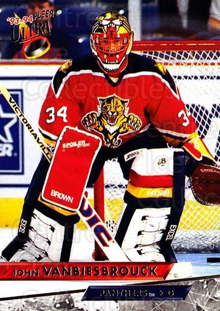 1993-94 Ultra #333 John Vanbiesbrouck<br/>2 In Stock - $1.00 each - <a href=https://centericecollectibles.foxycart.com/cart?name=1993-94%20Ultra%20%23333%20John%20Vanbiesbro...&quantity_max=2&price=$1.00&code=148974 class=foxycart> Buy it now! </a>