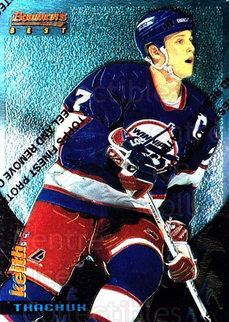 1994-95 Finest Bowmans Best Blue #17 Keith Tkachuk<br/>6 In Stock - $2.00 each - <a href=https://centericecollectibles.foxycart.com/cart?name=1994-95%20Finest%20Bowmans%20Best%20Blue%20%2317%20Keith%20Tkachuk...&quantity_max=6&price=$2.00&code=1491 class=foxycart> Buy it now! </a>