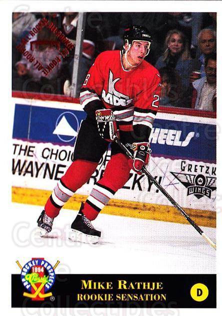 1994 Classic Pro Prospects #32 Mike Rathje<br/>11 In Stock - $1.00 each - <a href=https://centericecollectibles.foxycart.com/cart?name=1994%20Classic%20Pro%20Prospects%20%2332%20Mike%20Rathje...&quantity_max=11&price=$1.00&code=149228 class=foxycart> Buy it now! </a>