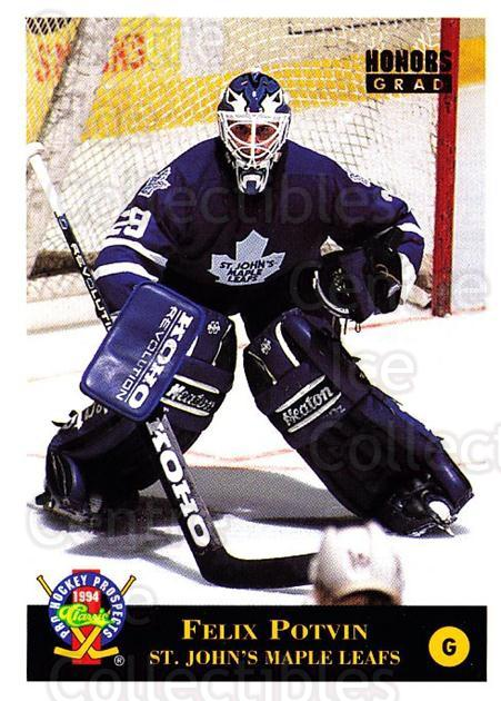 1994 Classic Pro Prospects #51 Felix Potvin<br/>4 In Stock - $1.00 each - <a href=https://centericecollectibles.foxycart.com/cart?name=1994%20Classic%20Pro%20Prospects%20%2351%20Felix%20Potvin...&quantity_max=4&price=$1.00&code=149249 class=foxycart> Buy it now! </a>
