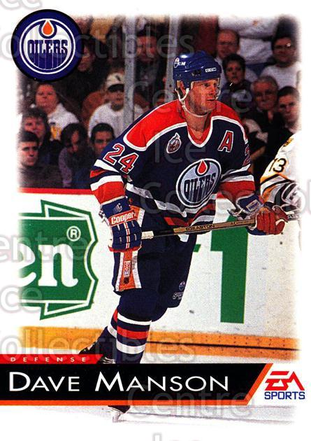 1994 EA Sports #43 Dave Manson<br/>5 In Stock - $1.00 each - <a href=https://centericecollectibles.foxycart.com/cart?name=1994%20EA%20Sports%20%2343%20Dave%20Manson...&quantity_max=5&price=$1.00&code=149297 class=foxycart> Buy it now! </a>