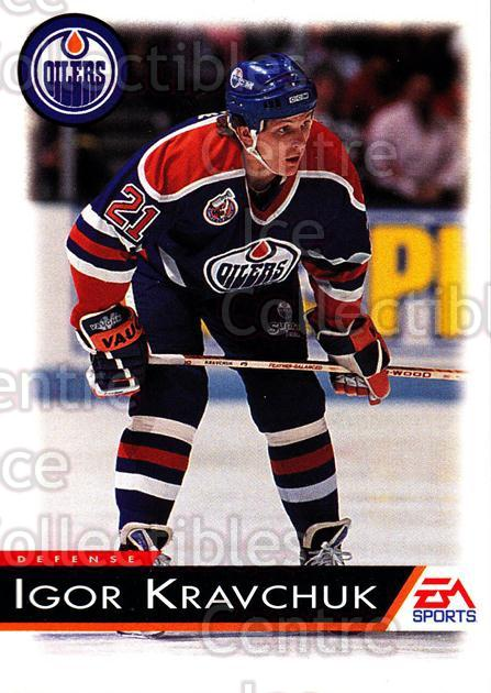 1994 EA Sports #44 Igor Kravchuk<br/>5 In Stock - $1.00 each - <a href=https://centericecollectibles.foxycart.com/cart?name=1994%20EA%20Sports%20%2344%20Igor%20Kravchuk...&quantity_max=5&price=$1.00&code=149298 class=foxycart> Buy it now! </a>
