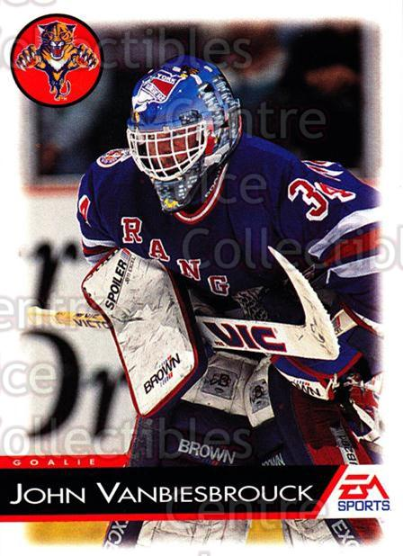 1994 EA Sports #54 John Vanbiesbrouck<br/>4 In Stock - $1.00 each - <a href=https://centericecollectibles.foxycart.com/cart?name=1994%20EA%20Sports%20%2354%20John%20Vanbiesbro...&quantity_max=4&price=$1.00&code=149309 class=foxycart> Buy it now! </a>