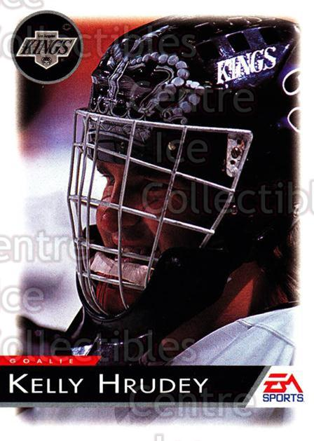 1994 EA Sports #66 Kelly Hrudey<br/>6 In Stock - $1.00 each - <a href=https://centericecollectibles.foxycart.com/cart?name=1994%20EA%20Sports%20%2366%20Kelly%20Hrudey...&quantity_max=6&price=$1.00&code=149321 class=foxycart> Buy it now! </a>