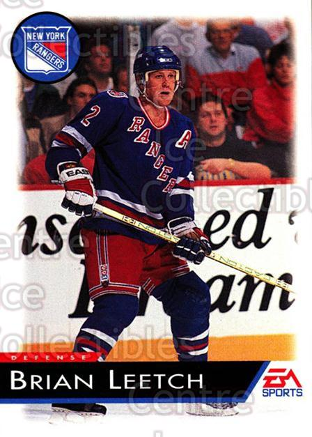 1994 EA Sports #85 Brian Leetch<br/>6 In Stock - $1.00 each - <a href=https://centericecollectibles.foxycart.com/cart?name=1994%20EA%20Sports%20%2385%20Brian%20Leetch...&quantity_max=6&price=$1.00&code=149340 class=foxycart> Buy it now! </a>
