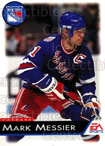 1994 EA Sports #87 Mark Messier<br/>5 In Stock - $1.00 each - <a href=https://centericecollectibles.foxycart.com/cart?name=1994%20EA%20Sports%20%2387%20Mark%20Messier...&quantity_max=5&price=$1.00&code=149342 class=foxycart> Buy it now! </a>