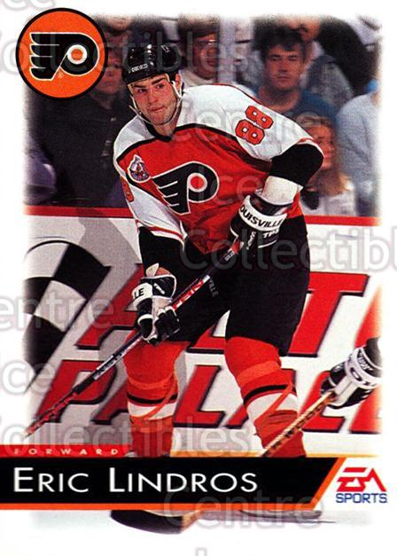 1994 EA Sports #99 Eric Lindros<br/>2 In Stock - $1.00 each - <a href=https://centericecollectibles.foxycart.com/cart?name=1994%20EA%20Sports%20%2399%20Eric%20Lindros...&quantity_max=2&price=$1.00&code=149355 class=foxycart> Buy it now! </a>