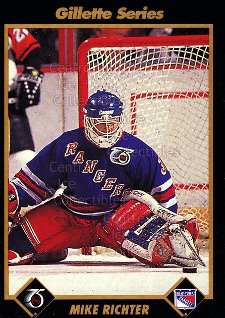 1991-92 Gillette #39 Mike Richter<br/>11 In Stock - $2.00 each - <a href=https://centericecollectibles.foxycart.com/cart?name=1991-92%20Gillette%20%2339%20Mike%20Richter...&quantity_max=11&price=$2.00&code=14937 class=foxycart> Buy it now! </a>