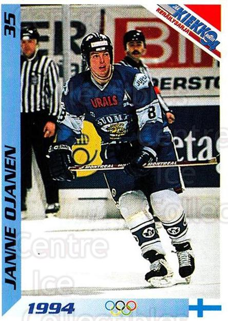 1994 Finnish Jaa Kiekko #35 Janne Ojanen<br/>8 In Stock - $2.00 each - <a href=https://centericecollectibles.foxycart.com/cart?name=1994%20Finnish%20Jaa%20Kiekko%20%2335%20Janne%20Ojanen...&quantity_max=8&price=$2.00&code=149429 class=foxycart> Buy it now! </a>