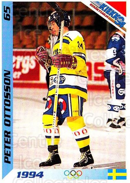 1994 Finnish Jaa Kiekko #65 Peter Ottosson<br/>5 In Stock - $2.00 each - <a href=https://centericecollectibles.foxycart.com/cart?name=1994%20Finnish%20Jaa%20Kiekko%20%2365%20Peter%20Ottosson...&quantity_max=5&price=$2.00&code=149465 class=foxycart> Buy it now! </a>