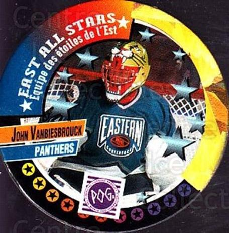 1994-95 Canada Games NHL POGS #261 John Vanbiesbrouck<br/>3 In Stock - $1.00 each - <a href=https://centericecollectibles.foxycart.com/cart?name=1994-95%20Canada%20Games%20NHL%20POGS%20%23261%20John%20Vanbiesbro...&quantity_max=3&price=$1.00&code=149534 class=foxycart> Buy it now! </a>