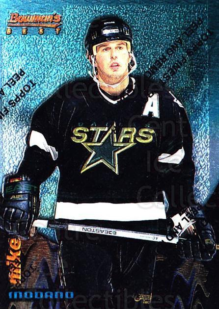 1994-95 Finest Bowmans Best Blue #6 Mike Modano<br/>3 In Stock - $2.00 each - <a href=https://centericecollectibles.foxycart.com/cart?name=1994-95%20Finest%20Bowmans%20Best%20Blue%20%236%20Mike%20Modano...&quantity_max=3&price=$2.00&code=1495 class=foxycart> Buy it now! </a>