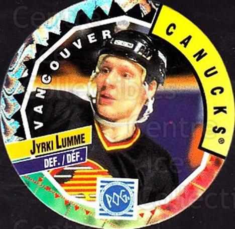 1994-95 Canada Games NHL POGS #339 Jyrki Lumme<br/>7 In Stock - $1.00 each - <a href=https://centericecollectibles.foxycart.com/cart?name=1994-95%20Canada%20Games%20NHL%20POGS%20%23339%20Jyrki%20Lumme...&quantity_max=7&price=$1.00&code=149607 class=foxycart> Buy it now! </a>