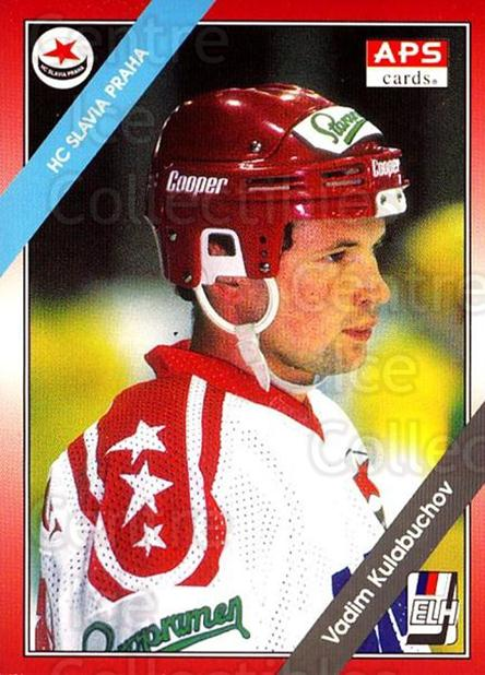 1994-95 Czech APS Extraliga #270 Vadim Kulabuchov<br/>5 In Stock - $2.00 each - <a href=https://centericecollectibles.foxycart.com/cart?name=1994-95%20Czech%20APS%20Extraliga%20%23270%20Vadim%20Kulabucho...&quantity_max=5&price=$2.00&code=149701 class=foxycart> Buy it now! </a>