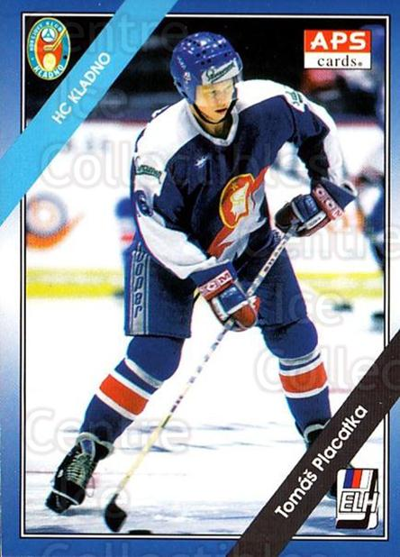 1994-95 Czech APS Extraliga #274 Tomas Placatka<br/>4 In Stock - $2.00 each - <a href=https://centericecollectibles.foxycart.com/cart?name=1994-95%20Czech%20APS%20Extraliga%20%23274%20Tomas%20Placatka...&quantity_max=4&price=$2.00&code=149705 class=foxycart> Buy it now! </a>