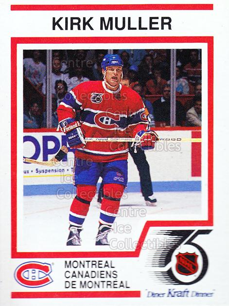 1991-92 Kraft ( Red Backs ) #12 Kirk Muller<br/>10 In Stock - $2.00 each - <a href=https://centericecollectibles.foxycart.com/cart?name=1991-92%20Kraft%20(%20Red%20Backs%20)%20%2312%20Kirk%20Muller...&quantity_max=10&price=$2.00&code=14971 class=foxycart> Buy it now! </a>