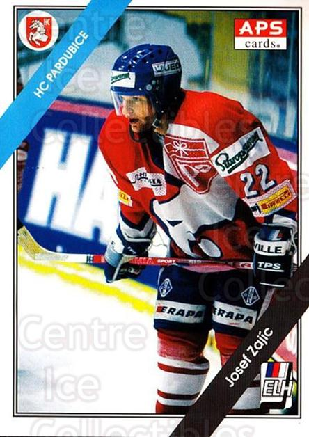 1994-95 Czech APS Extraliga #35 Josef Zajic<br/>4 In Stock - $2.00 each - <a href=https://centericecollectibles.foxycart.com/cart?name=1994-95%20Czech%20APS%20Extraliga%20%2335%20Josef%20Zajic...&quantity_max=4&price=$2.00&code=149735 class=foxycart> Buy it now! </a>
