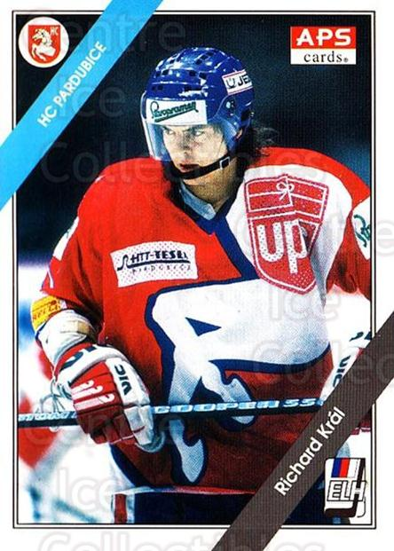 1994-95 Czech APS Extraliga #43 Richard Kral<br/>6 In Stock - $2.00 each - <a href=https://centericecollectibles.foxycart.com/cart?name=1994-95%20Czech%20APS%20Extraliga%20%2343%20Richard%20Kral...&quantity_max=6&price=$2.00&code=149741 class=foxycart> Buy it now! </a>