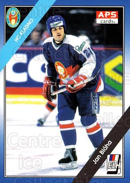 1994-95 Czech APS Extraliga #60 Jan Blaha<br/>2 In Stock - $2.00 each - <a href=https://centericecollectibles.foxycart.com/cart?name=1994-95%20Czech%20APS%20Extraliga%20%2360%20Jan%20Blaha...&quantity_max=2&price=$2.00&code=149751 class=foxycart> Buy it now! </a>