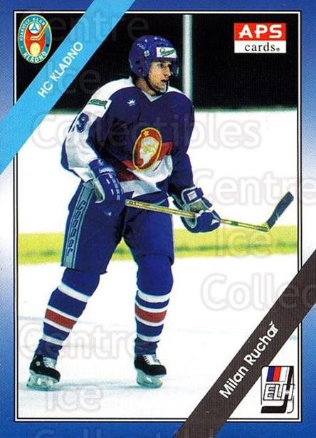 1994-95 Czech APS Extraliga #67 Milan Ruchar<br/>4 In Stock - $2.00 each - <a href=https://centericecollectibles.foxycart.com/cart?name=1994-95%20Czech%20APS%20Extraliga%20%2367%20Milan%20Ruchar...&quantity_max=4&price=$2.00&code=149754 class=foxycart> Buy it now! </a>