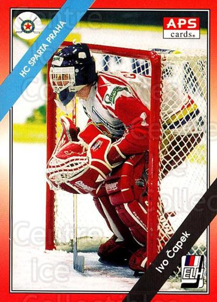 1994-95 Czech APS Extraliga #71 Ivo Capek<br/>1 In Stock - $2.00 each - <a href=https://centericecollectibles.foxycart.com/cart?name=1994-95%20Czech%20APS%20Extraliga%20%2371%20Ivo%20Capek...&quantity_max=1&price=$2.00&code=149757 class=foxycart> Buy it now! </a>
