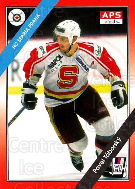 1994-95 Czech APS Extraliga #78 Pavel Taborsky<br/>3 In Stock - $2.00 each - <a href=https://centericecollectibles.foxycart.com/cart?name=1994-95%20Czech%20APS%20Extraliga%20%2378%20Pavel%20Taborsky...&quantity_max=3&price=$2.00&code=149762 class=foxycart> Buy it now! </a>
