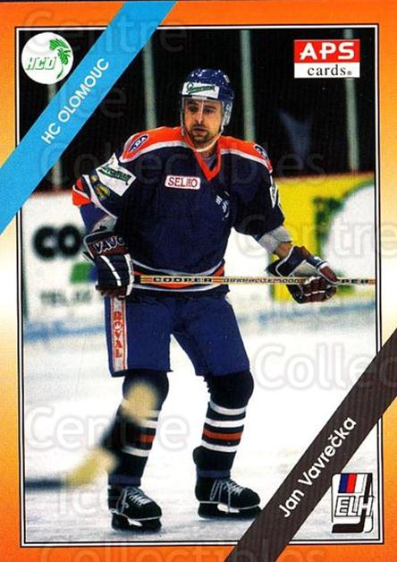 1994-95 Czech APS Extraliga #8 Jan Vavrecka<br/>8 In Stock - $2.00 each - <a href=https://centericecollectibles.foxycart.com/cart?name=1994-95%20Czech%20APS%20Extraliga%20%238%20Jan%20Vavrecka...&quantity_max=8&price=$2.00&code=149763 class=foxycart> Buy it now! </a>