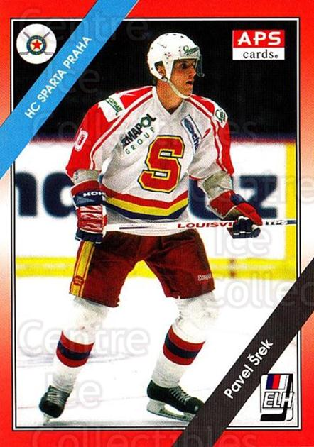 1994-95 Czech APS Extraliga #80 Pavel Srek<br/>3 In Stock - $2.00 each - <a href=https://centericecollectibles.foxycart.com/cart?name=1994-95%20Czech%20APS%20Extraliga%20%2380%20Pavel%20Srek...&quantity_max=3&price=$2.00&code=149764 class=foxycart> Buy it now! </a>