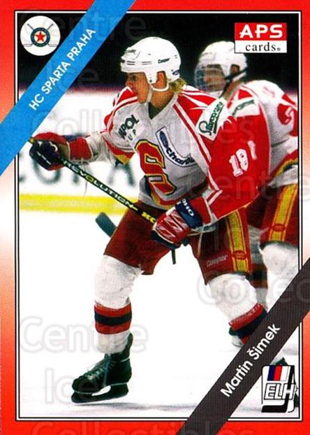 1994-95 Czech APS Extraliga #81 Martin Simek<br/>2 In Stock - $2.00 each - <a href=https://centericecollectibles.foxycart.com/cart?name=1994-95%20Czech%20APS%20Extraliga%20%2381%20Martin%20Simek...&quantity_max=2&price=$2.00&code=149765 class=foxycart> Buy it now! </a>