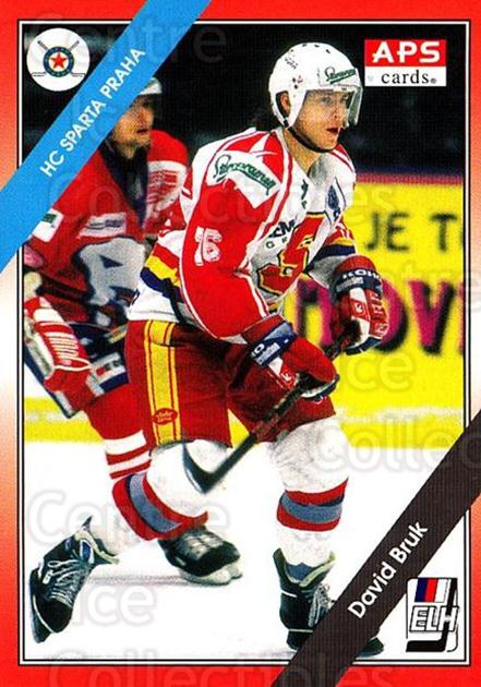 1994-95 Czech APS Extraliga #86 David Bruk<br/>3 In Stock - $2.00 each - <a href=https://centericecollectibles.foxycart.com/cart?name=1994-95%20Czech%20APS%20Extraliga%20%2386%20David%20Bruk...&quantity_max=3&price=$2.00&code=149767 class=foxycart> Buy it now! </a>
