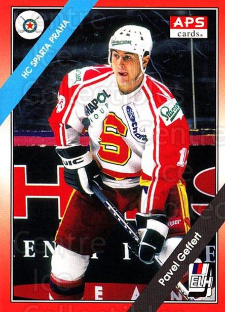 1994-95 Czech APS Extraliga #87 Pavel Geffert<br/>4 In Stock - $2.00 each - <a href=https://centericecollectibles.foxycart.com/cart?name=1994-95%20Czech%20APS%20Extraliga%20%2387%20Pavel%20Geffert...&quantity_max=4&price=$2.00&code=149768 class=foxycart> Buy it now! </a>