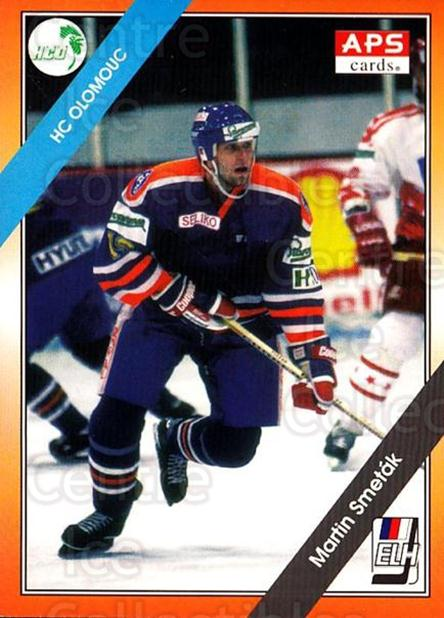 1994-95 Czech APS Extraliga #9 Martin Smetak<br/>6 In Stock - $2.00 each - <a href=https://centericecollectibles.foxycart.com/cart?name=1994-95%20Czech%20APS%20Extraliga%20%239%20Martin%20Smetak...&quantity_max=6&price=$2.00&code=149770 class=foxycart> Buy it now! </a>