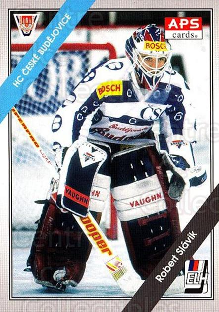 1994-95 Czech APS Extraliga #95 Robert Slavik<br/>3 In Stock - $2.00 each - <a href=https://centericecollectibles.foxycart.com/cart?name=1994-95%20Czech%20APS%20Extraliga%20%2395%20Robert%20Slavik...&quantity_max=3&price=$2.00&code=149774 class=foxycart> Buy it now! </a>