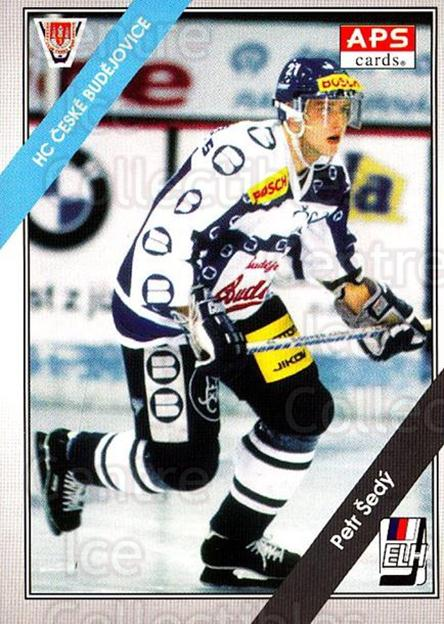 1994-95 Czech APS Extraliga #98 Petr Sedy<br/>8 In Stock - $2.00 each - <a href=https://centericecollectibles.foxycart.com/cart?name=1994-95%20Czech%20APS%20Extraliga%20%2398%20Petr%20Sedy...&quantity_max=8&price=$2.00&code=149776 class=foxycart> Buy it now! </a>