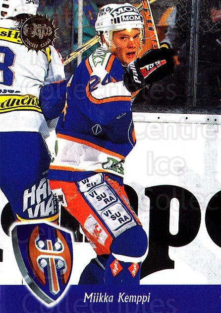 1994-95 Finnish SISU #271 Miikka Kemppi<br/>3 In Stock - $2.00 each - <a href=https://centericecollectibles.foxycart.com/cart?name=1994-95%20Finnish%20SISU%20%23271%20Miikka%20Kemppi...&quantity_max=3&price=$2.00&code=149969 class=foxycart> Buy it now! </a>
