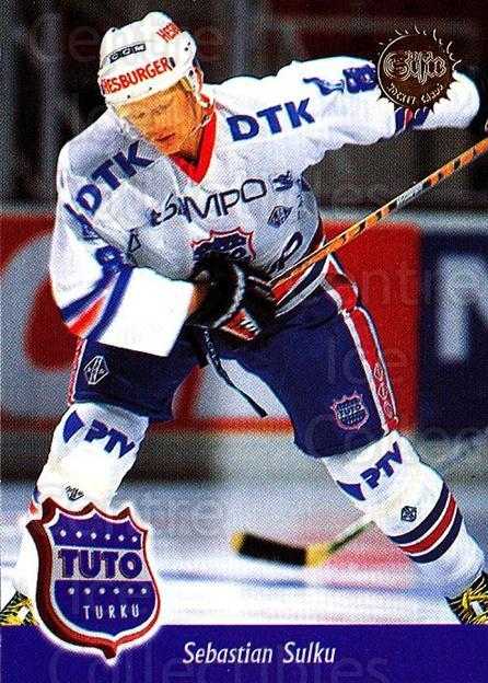 1994-95 Finnish SISU #275 Sebastien Sulku<br/>3 In Stock - $2.00 each - <a href=https://centericecollectibles.foxycart.com/cart?name=1994-95%20Finnish%20SISU%20%23275%20Sebastien%20Sulku...&quantity_max=3&price=$2.00&code=149973 class=foxycart> Buy it now! </a>