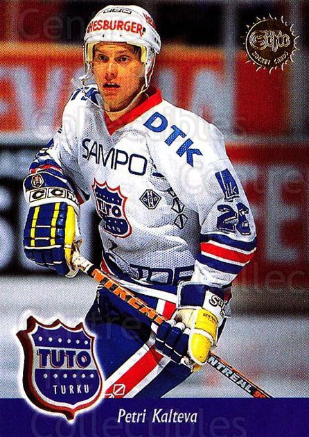 1994-95 Finnish SISU #296 Petri Kalteva<br/>1 In Stock - $2.00 each - <a href=https://centericecollectibles.foxycart.com/cart?name=1994-95%20Finnish%20SISU%20%23296%20Petri%20Kalteva...&quantity_max=1&price=$2.00&code=149994 class=foxycart> Buy it now! </a>