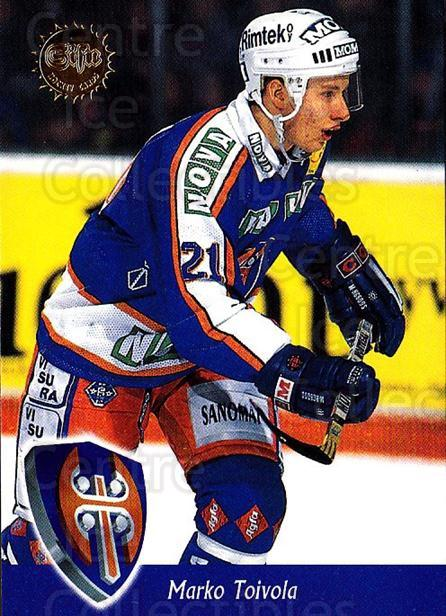 1994-95 Finnish SISU #303 Marko Toivola<br/>2 In Stock - $2.00 each - <a href=https://centericecollectibles.foxycart.com/cart?name=1994-95%20Finnish%20SISU%20%23303%20Marko%20Toivola...&quantity_max=2&price=$2.00&code=150003 class=foxycart> Buy it now! </a>