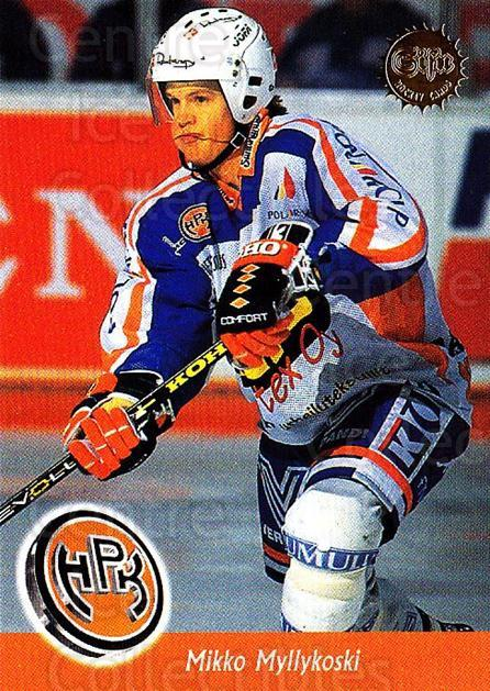 1994-95 Finnish SISU #317 Mikko Myllykoski<br/>4 In Stock - $2.00 each - <a href=https://centericecollectibles.foxycart.com/cart?name=1994-95%20Finnish%20SISU%20%23317%20Mikko%20Myllykosk...&quantity_max=4&price=$2.00&code=150017 class=foxycart> Buy it now! </a>