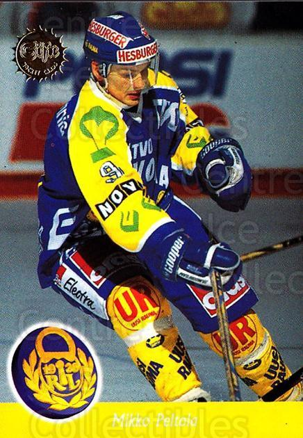 1994-95 Finnish SISU #324 Mikko Peltola<br/>4 In Stock - $2.00 each - <a href=https://centericecollectibles.foxycart.com/cart?name=1994-95%20Finnish%20SISU%20%23324%20Mikko%20Peltola...&quantity_max=4&price=$2.00&code=150025 class=foxycart> Buy it now! </a>