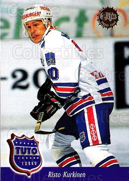 1994-95 Finnish SISU #325 Risto Kurkinen<br/>2 In Stock - $2.00 each - <a href=https://centericecollectibles.foxycart.com/cart?name=1994-95%20Finnish%20SISU%20%23325%20Risto%20Kurkinen...&quantity_max=2&price=$2.00&code=150026 class=foxycart> Buy it now! </a>