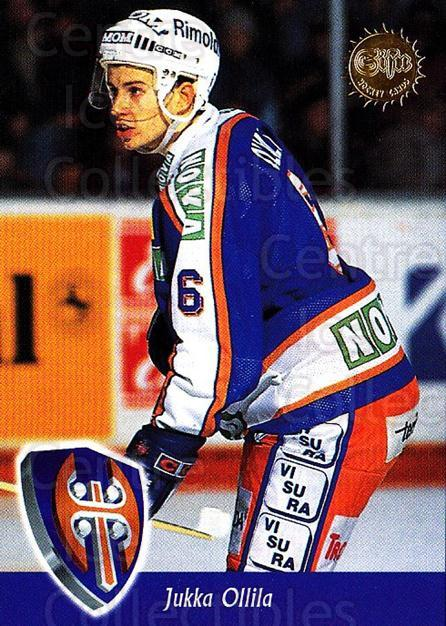 1994-95 Finnish SISU #330 Jukka Ollila<br/>1 In Stock - $2.00 each - <a href=https://centericecollectibles.foxycart.com/cart?name=1994-95%20Finnish%20SISU%20%23330%20Jukka%20Ollila...&quantity_max=1&price=$2.00&code=150029 class=foxycart> Buy it now! </a>