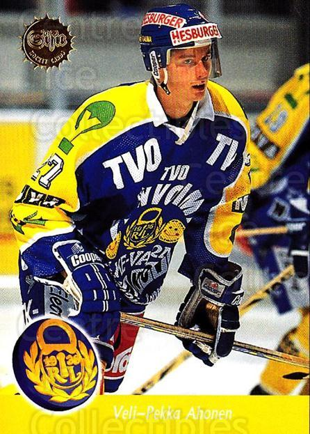 1994-95 Finnish SISU #351 Veli-Pekka Ahonen<br/>2 In Stock - $2.00 each - <a href=https://centericecollectibles.foxycart.com/cart?name=1994-95%20Finnish%20SISU%20%23351%20Veli-Pekka%20Ahon...&quantity_max=2&price=$2.00&code=150049 class=foxycart> Buy it now! </a>